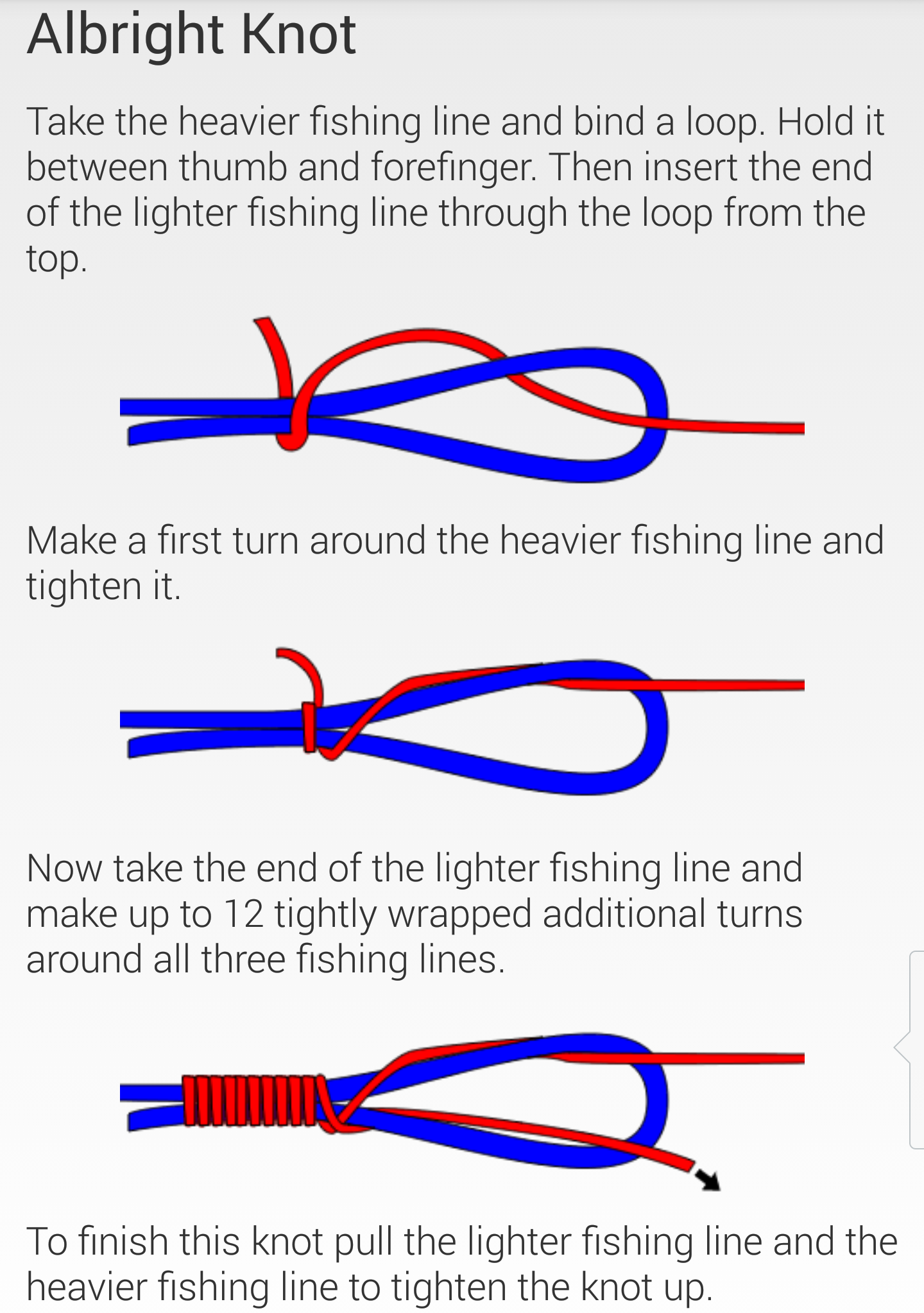 Fishing knots cartersflcharters for How to tie fishing line together